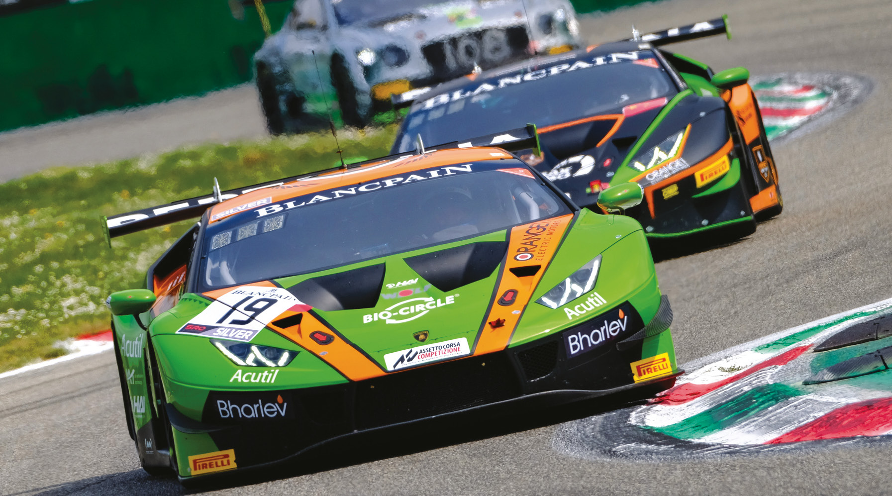 The Huracán GT3 has proven successful across all classes of the Blancpain GT Series, Pro, Silver and Am