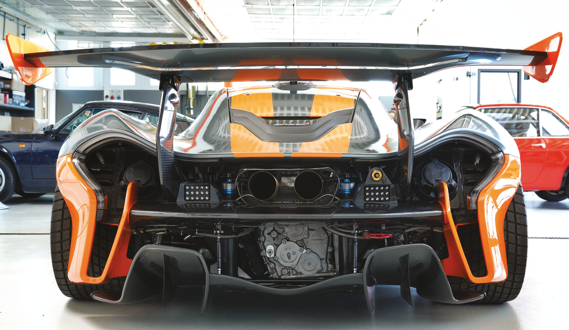 A cocktail of carbon and aero sophistication, this is chassis number 10 of the 58 P1 GTRs McLaren made