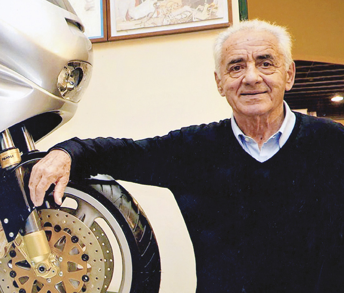 Giancarlo Morbidelli built the collection over 30 years