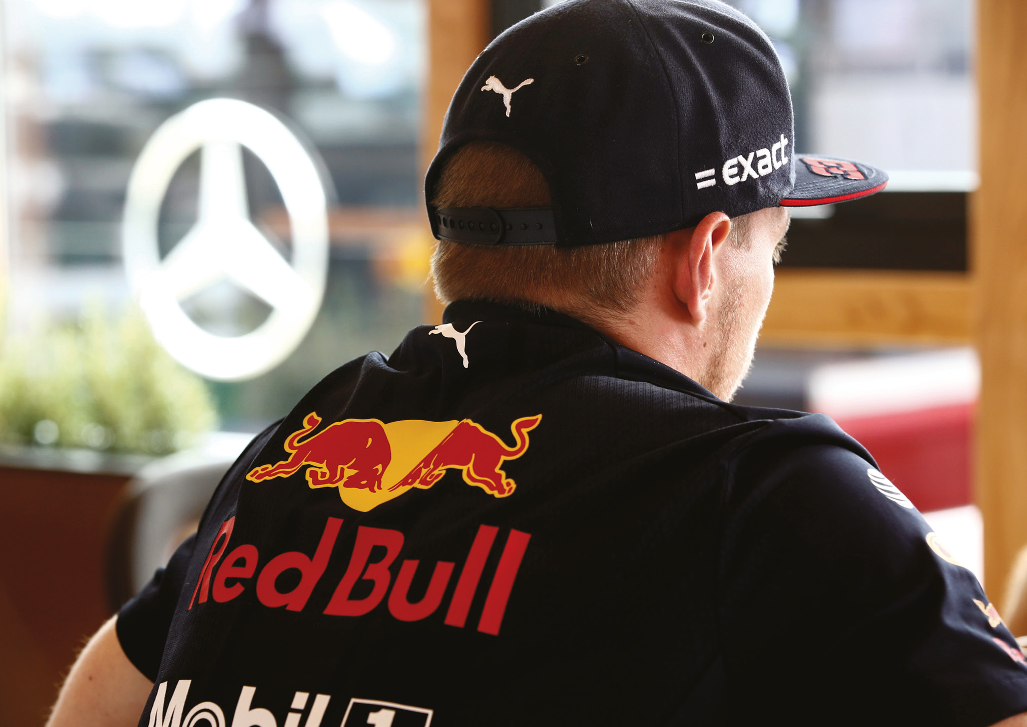 A foreboding vision of the future? Verstappen is firmly on Mercedes' radar, and could be a long-term Hamilton replacement