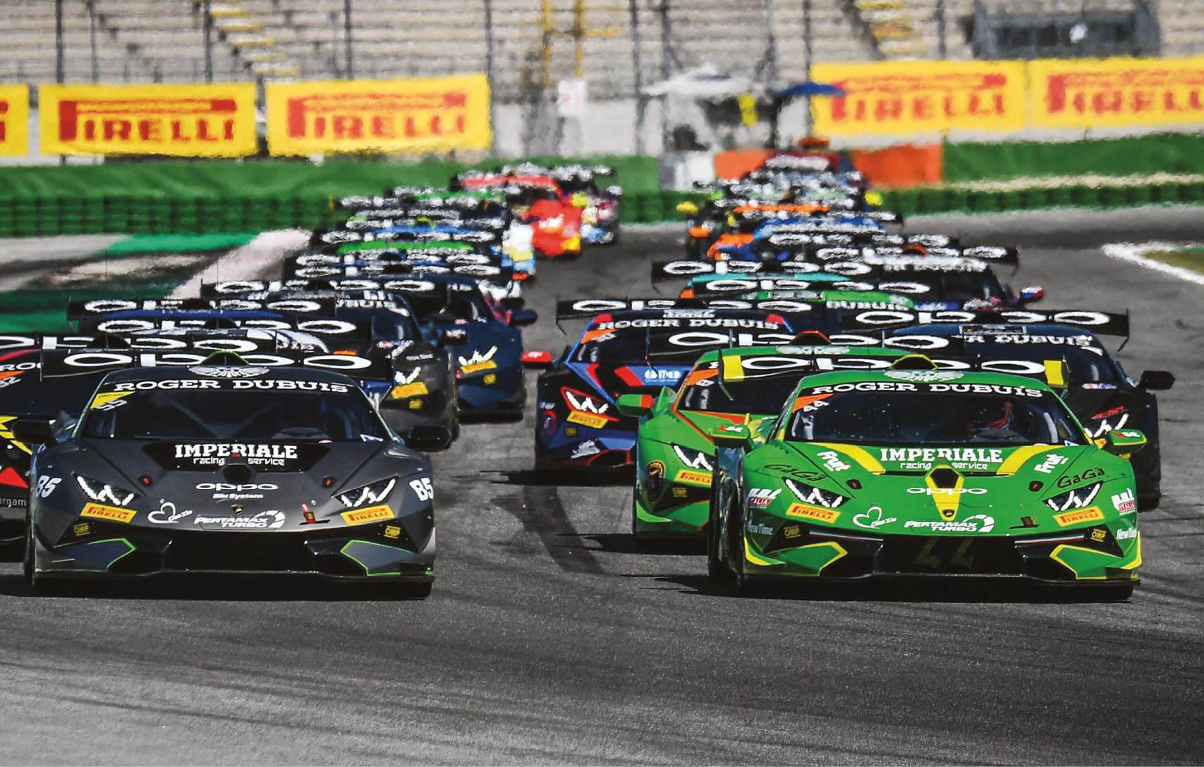 The Super Trofeo has spawned series around the world, with the European version running big, competitive grids
