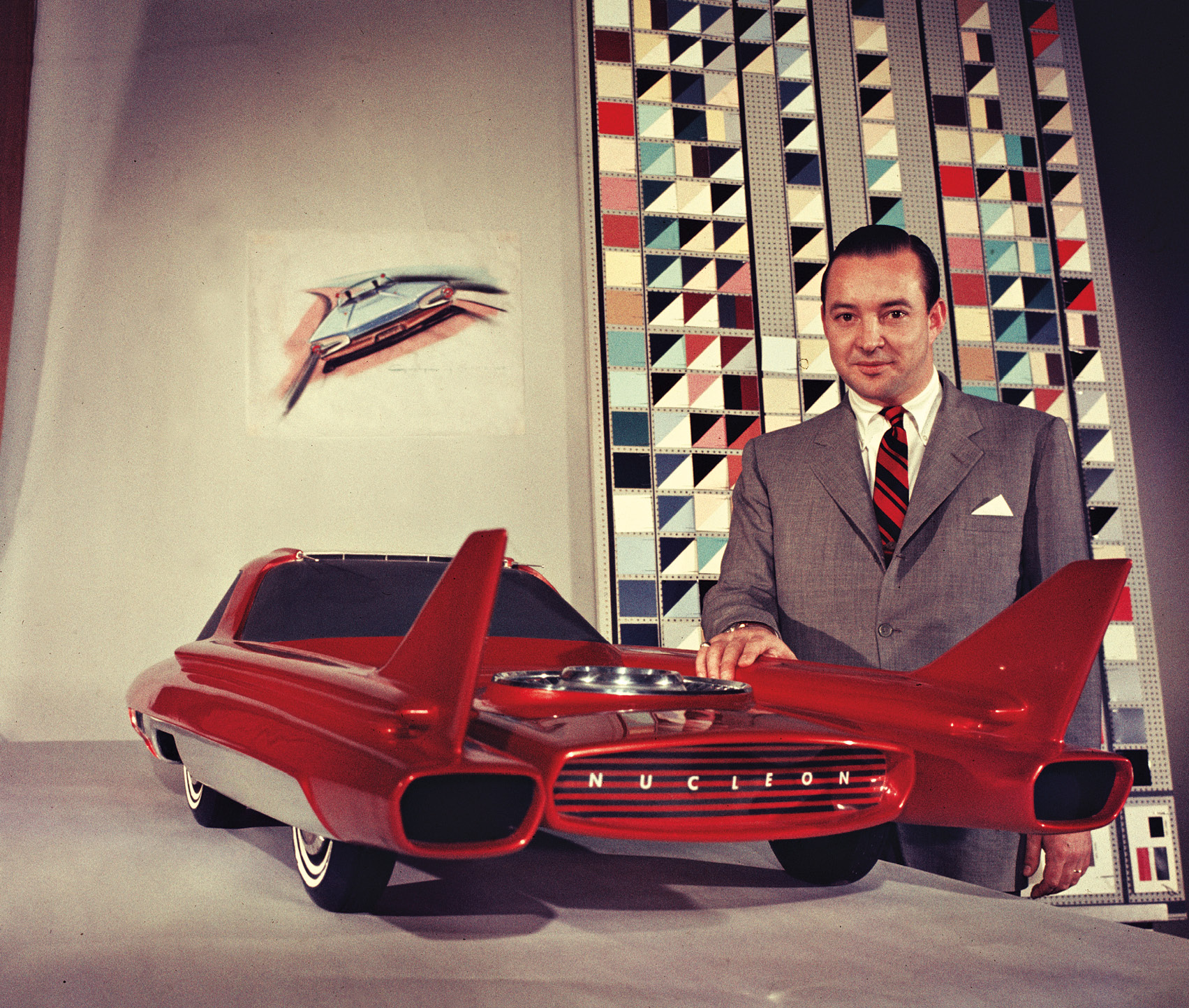 Ford's radical 1957 Nucleon promised uranium-powered motoring, but thankfully it was never built