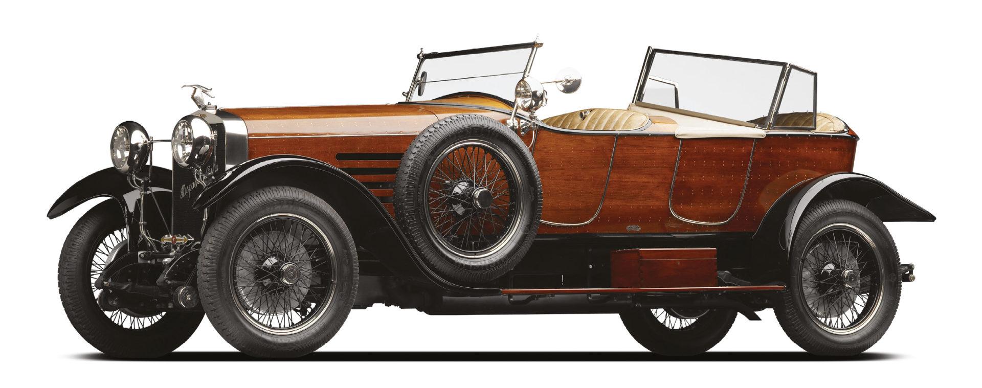 The Hispano-Suiza H6B