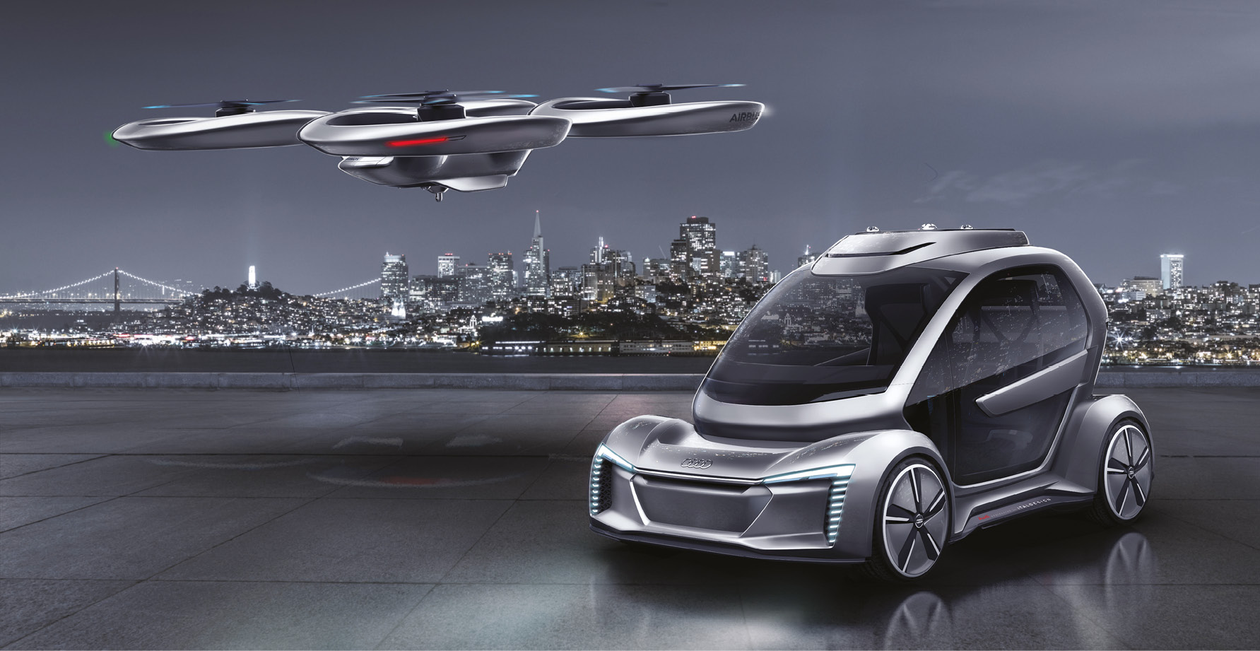 Autonomous, electric, compact, and it can fly: is Audi's Pop.Up Next the future of commuting?