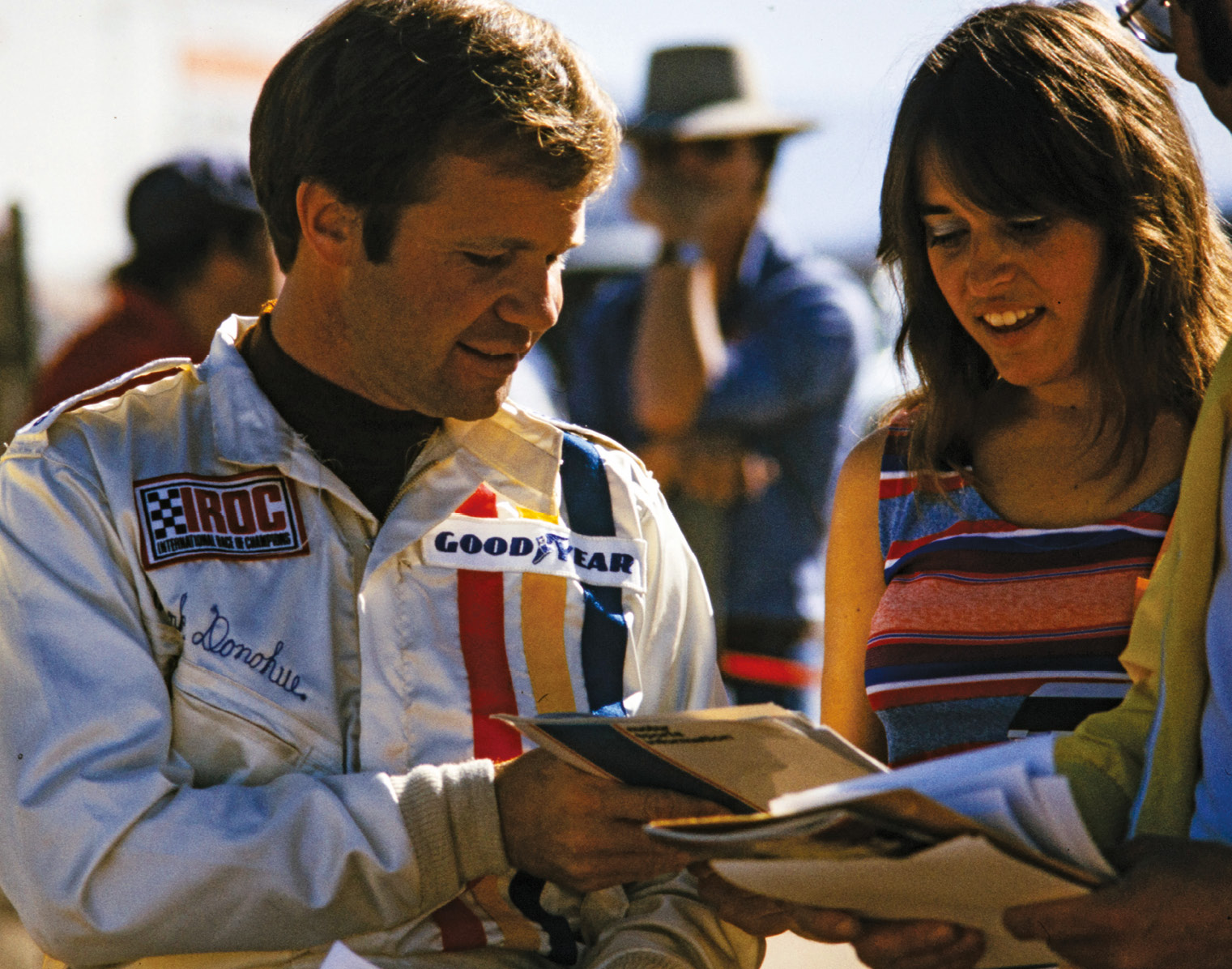 Donohue counted the 1973 Can-Am and '74 International Race of Champions as his final titles