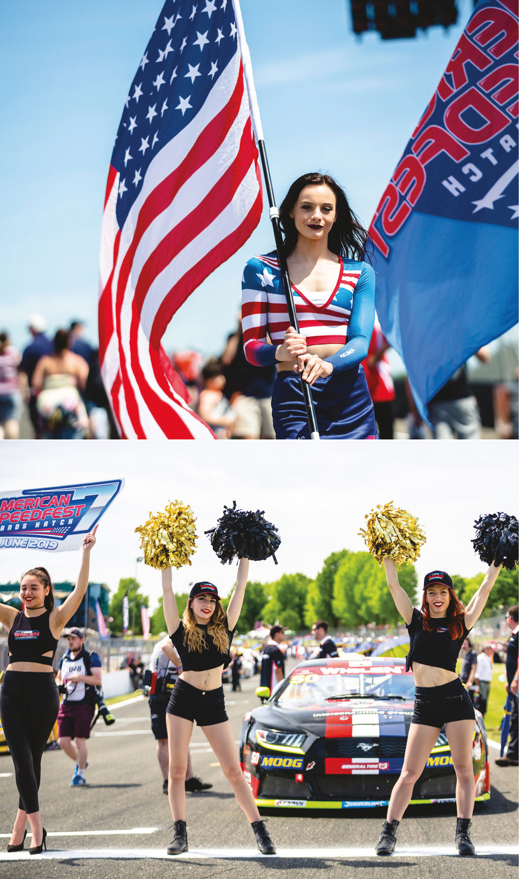 Razzmatazz and public interaction are key elements of the NASCAR Euro Series