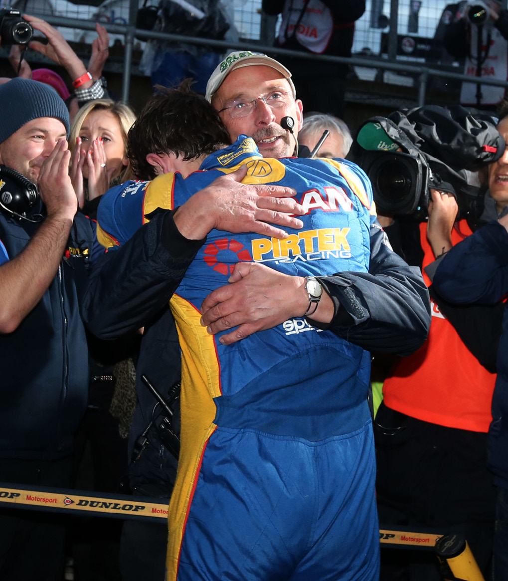 The 2013 season was a hugely emotional one for the Jordans, as they beat the BTCC big guns