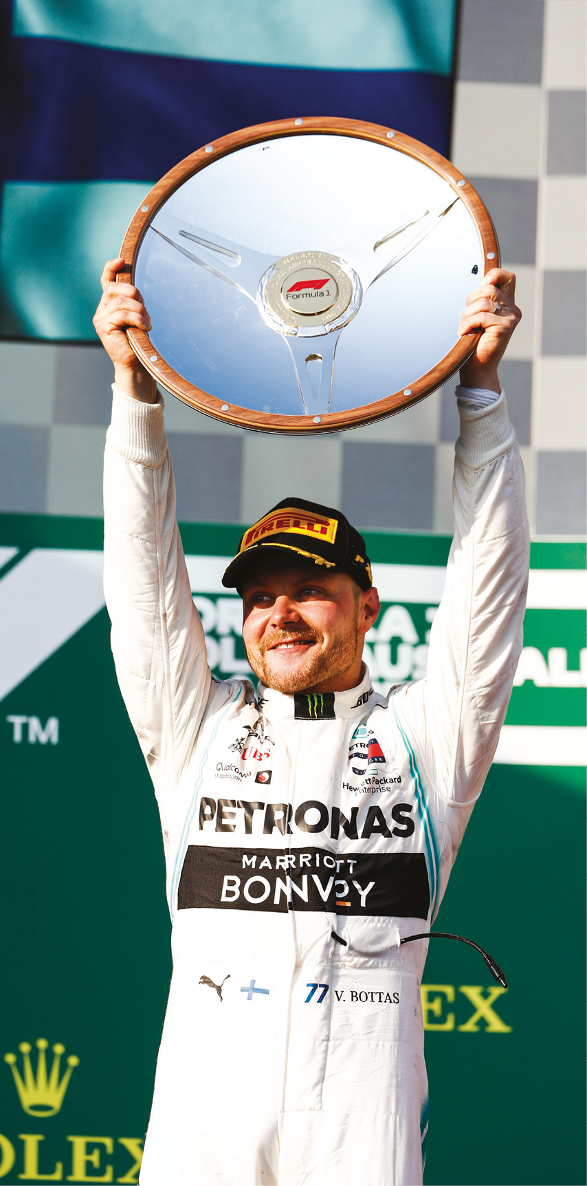 Victory in Australia signalled Bottas's strong start to the year, but things have dropped off since