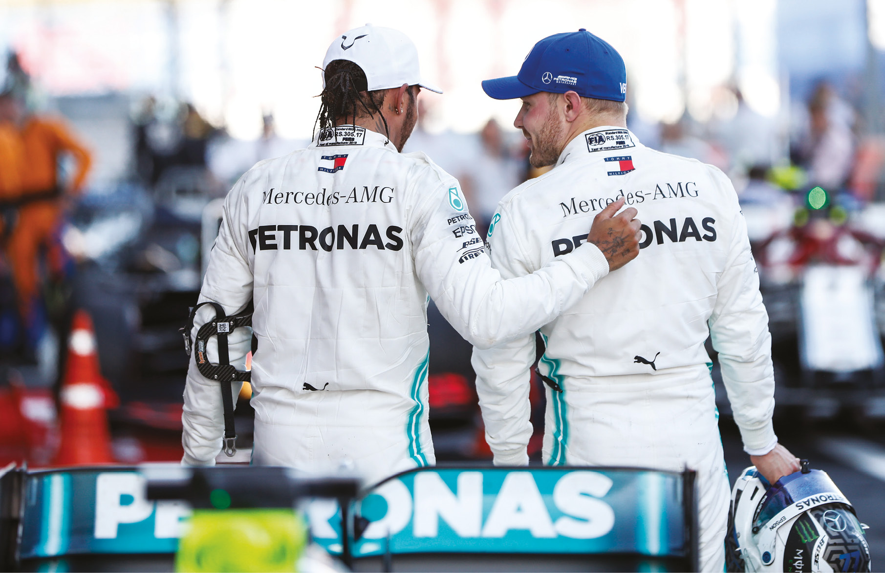 While things started out in Bottas' favour, Hamilton has turned the table as the season has gone on