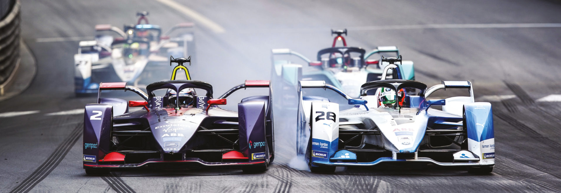 Formula E already boasts a strong manufacturer presence, with DS Virgin (left) and BMW two star teams