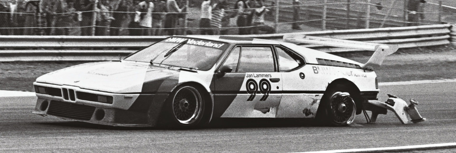 He won the opening Procar event of 1980 at Donington, but hit trouble at Imola. He was fourth in the points that season