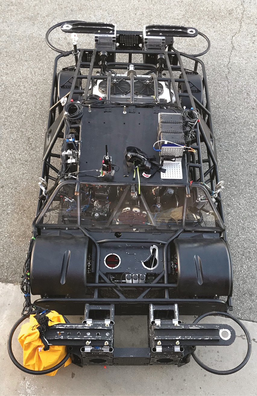'Frankenstein' mobile camera vehicle