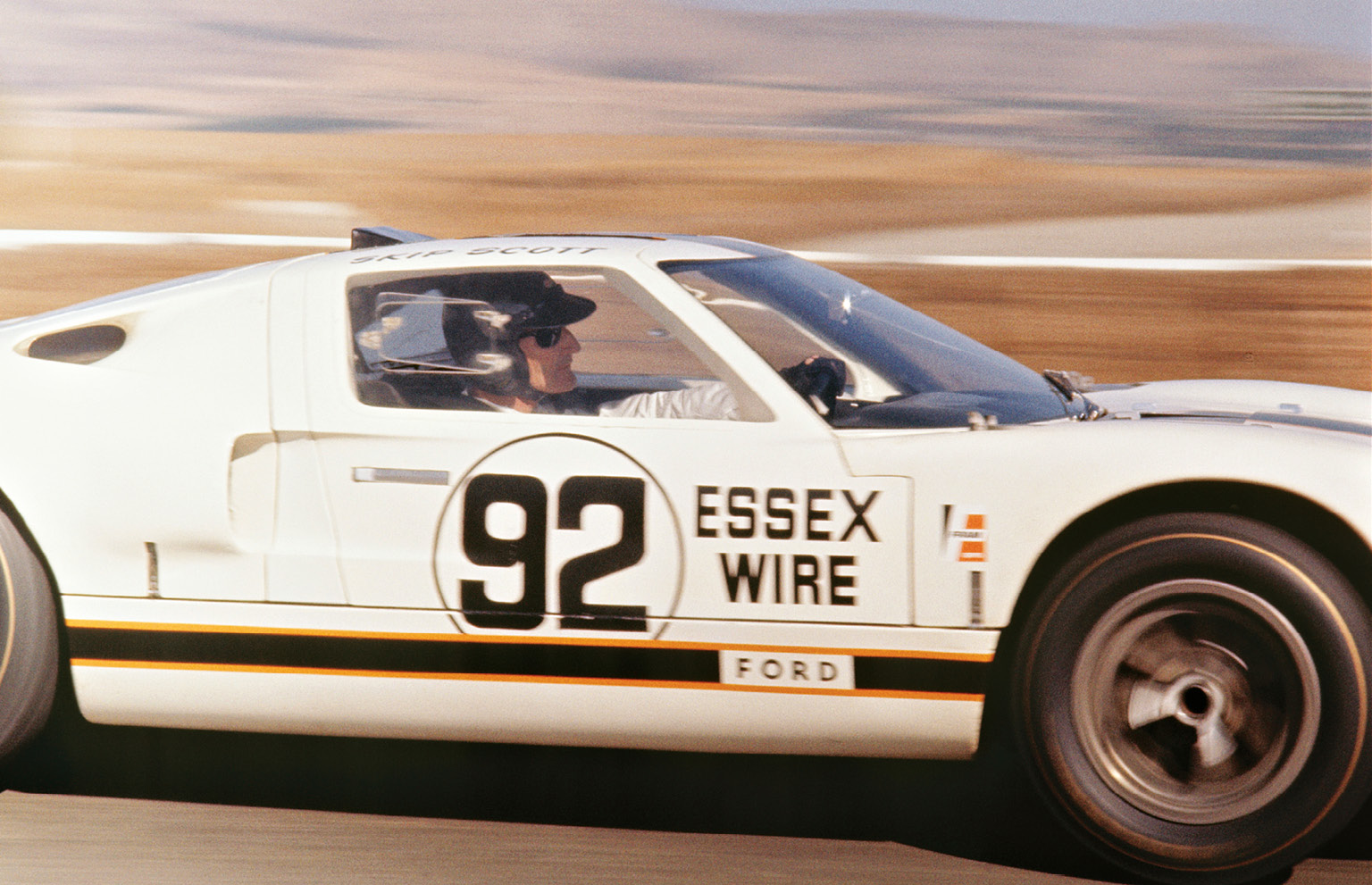 Having won with smaller-capacity cars, Miles found himself as a key part to Shelby and Ford's GT40 programme