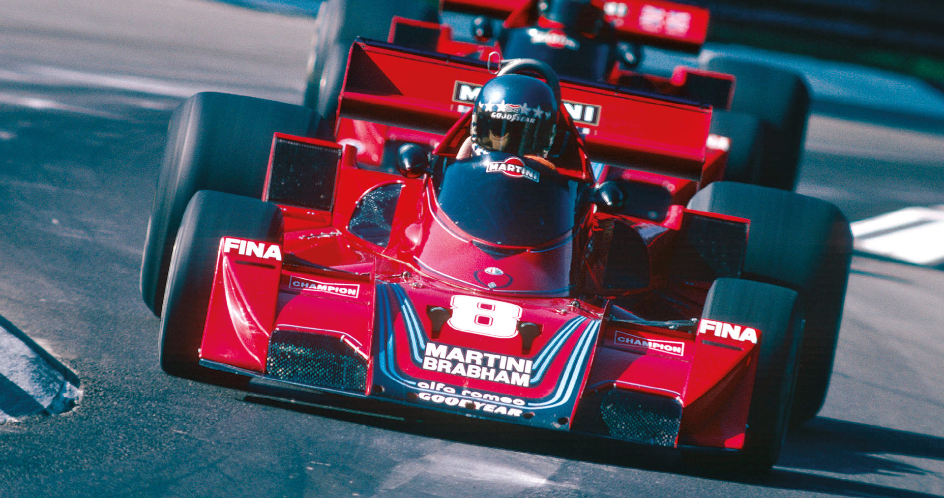 Stuck's best F1 season came with the Brabham-Alfa Romeo team in 1977, when he scored two podium finishes.