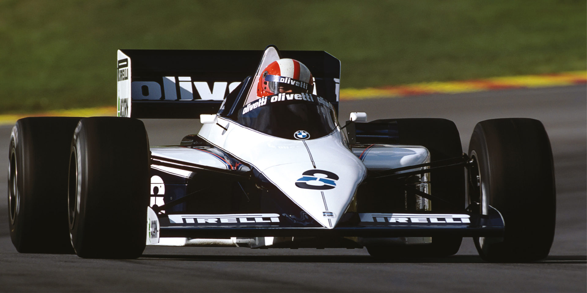 Surer was a great all-rounder, who experienced the F1 turbo era in full effect with the Brabham BT54 in 1985