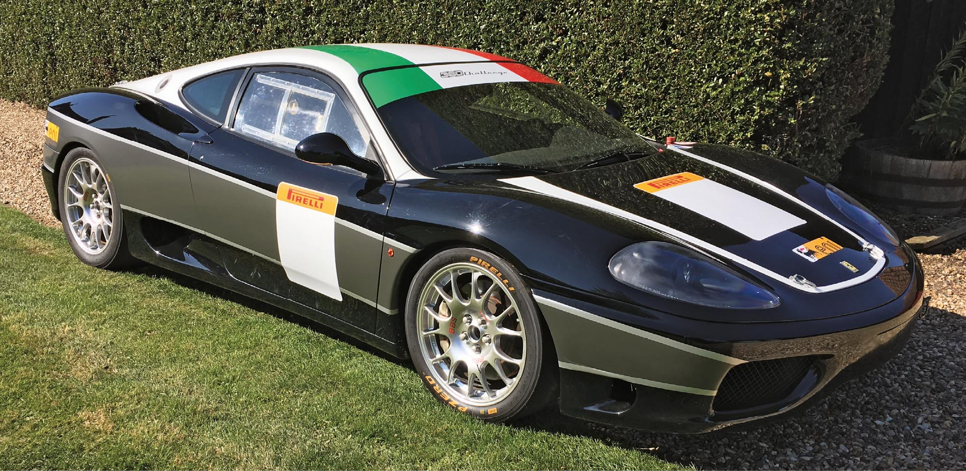 Great looks and a 'wants for nothing' mechanical refresh make this 360 Challenge an appealing example for anybody looking for a race or track-ready Ferrari.