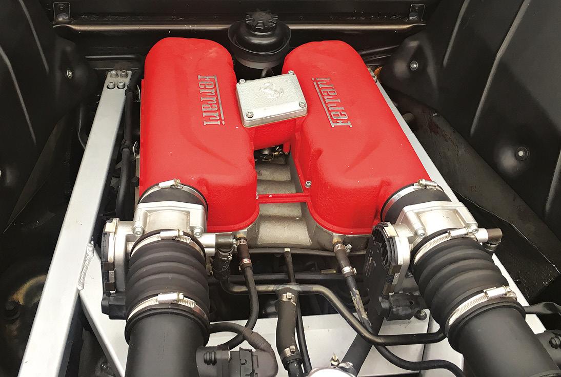 3.6-litre 400bhp V8