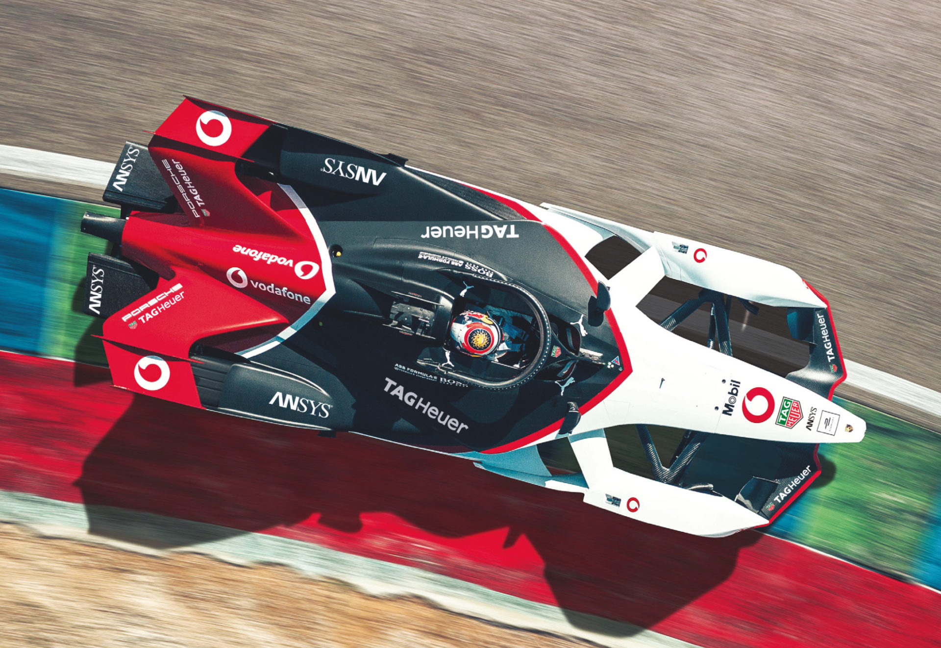 Porsche's Formula E entry has been done off its own back, rather than partnering with an existing team.