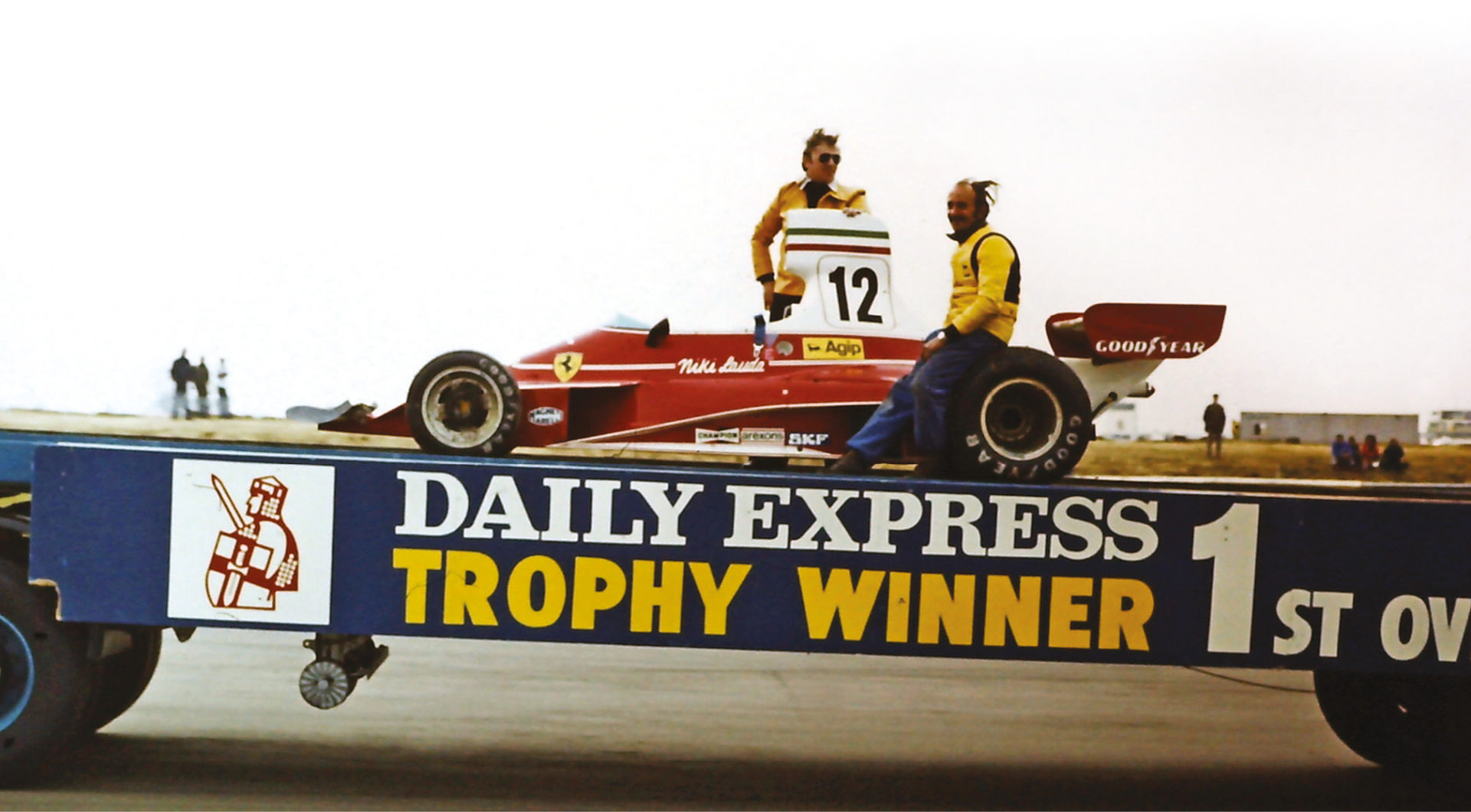 With this non-championship race being held on April 13, it marked Lauda's first win of the season. He would take his first championship pole in Spain a fortnight later, then first win at Monaco in May, putting him on his way to his first world title