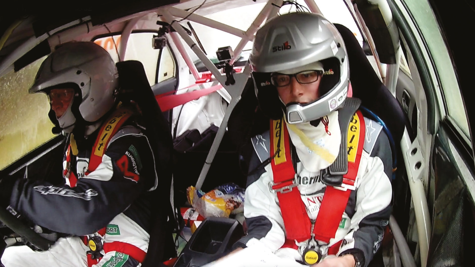Tobin had never rallied before, so Rally GB was a steep learning curve for our rookie navigator