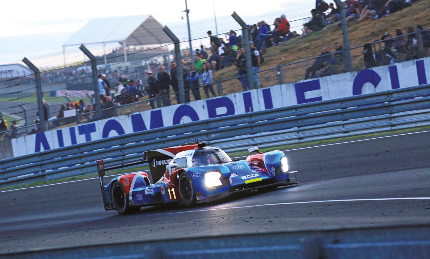 At Le Mans with the SMP LMP2 team