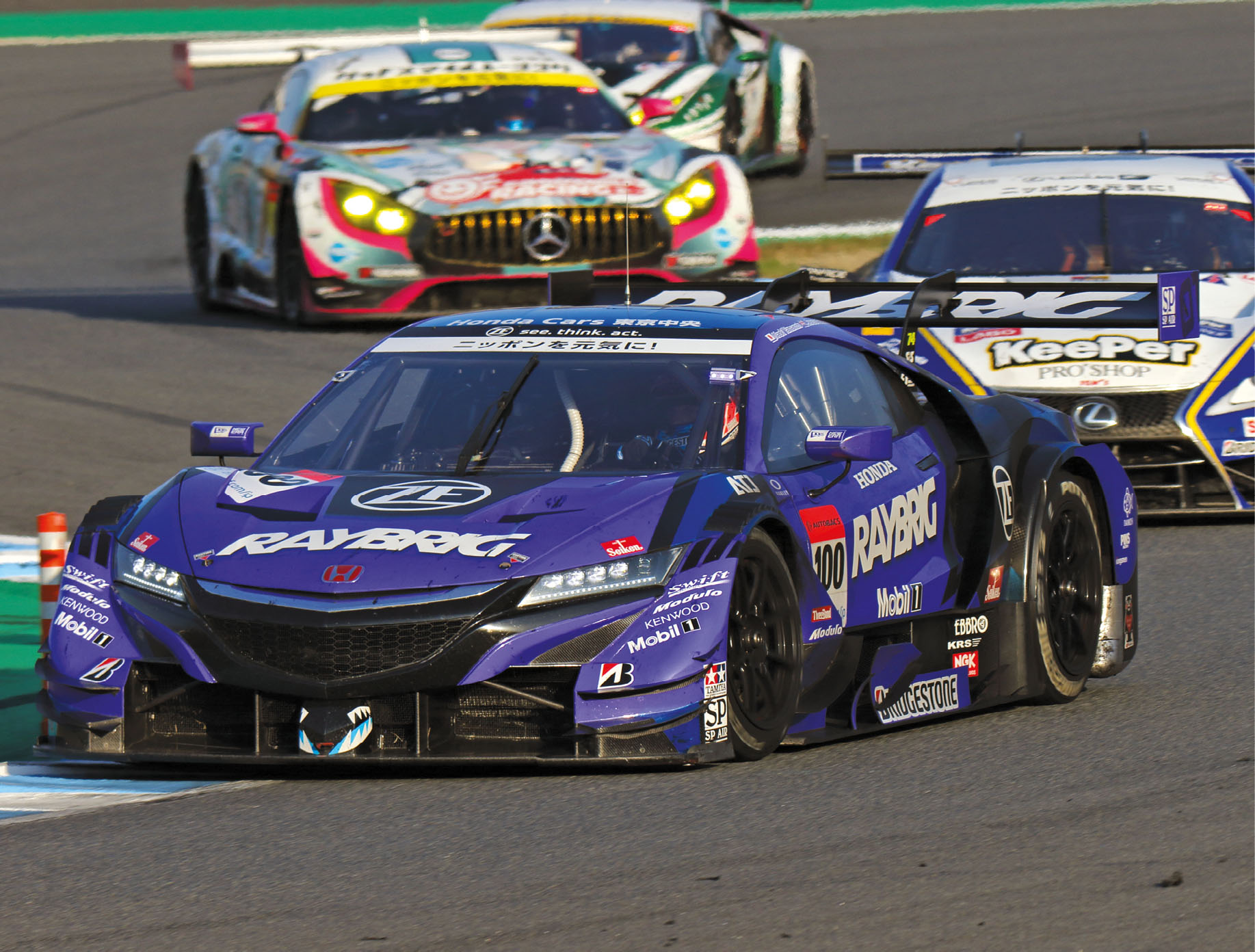Button has gone on to race very successfully in the Japanese Super GT series, winning the 2018 championship
