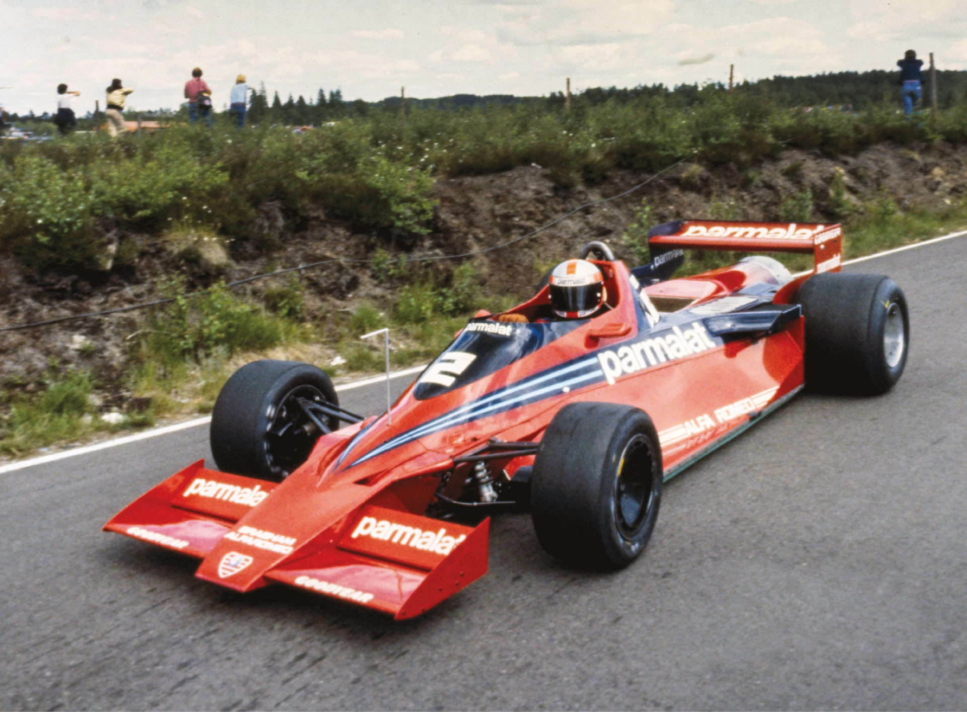 The BT46B 'fan car' was just one of Gordon Murray's ingenious creations for Brabham. He also created the adaptive suspension for the 1981 BT49C that outfoxed the paddock