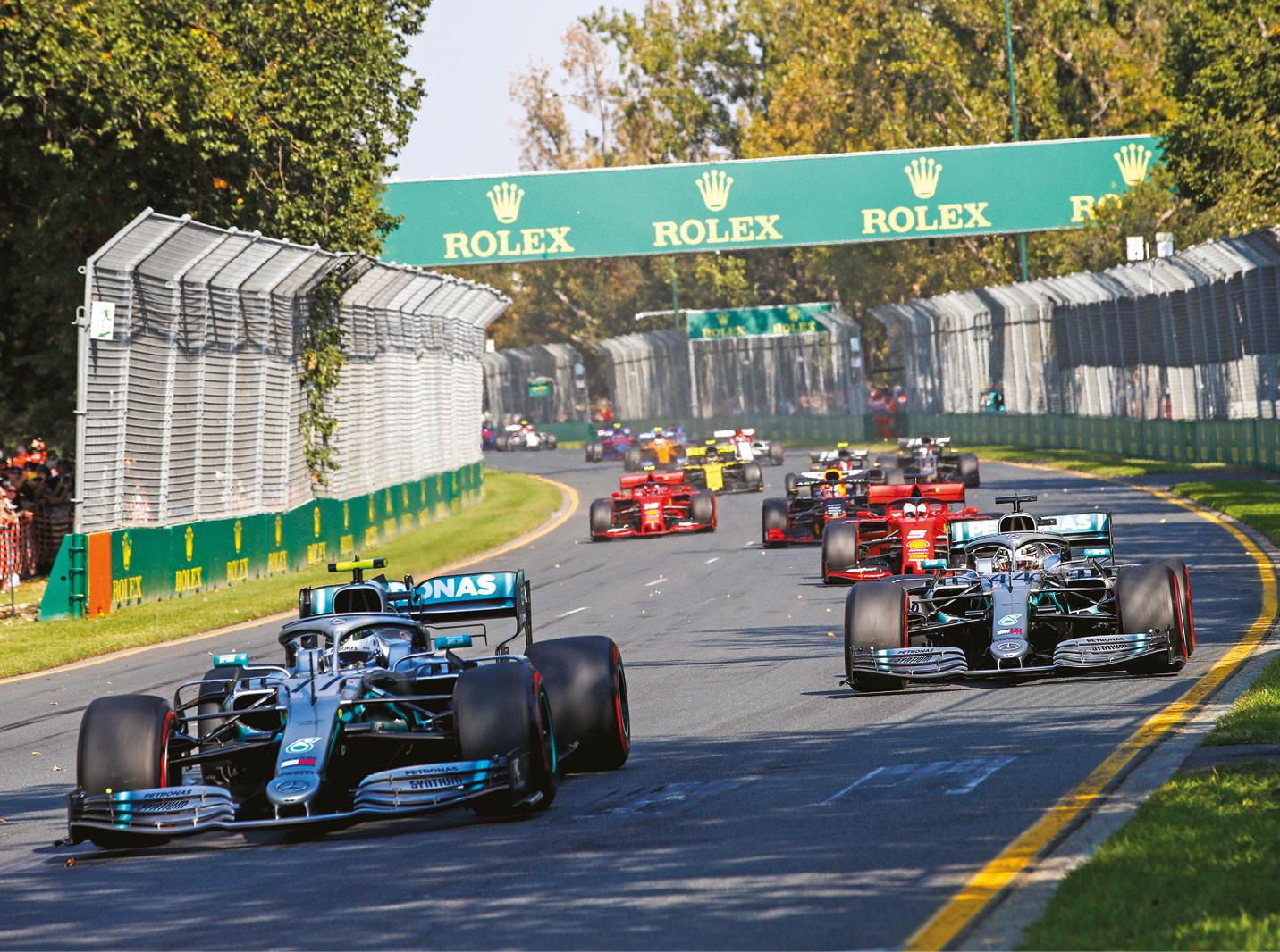 Bottas won in Australia, but soon lost momentum against Hamilton