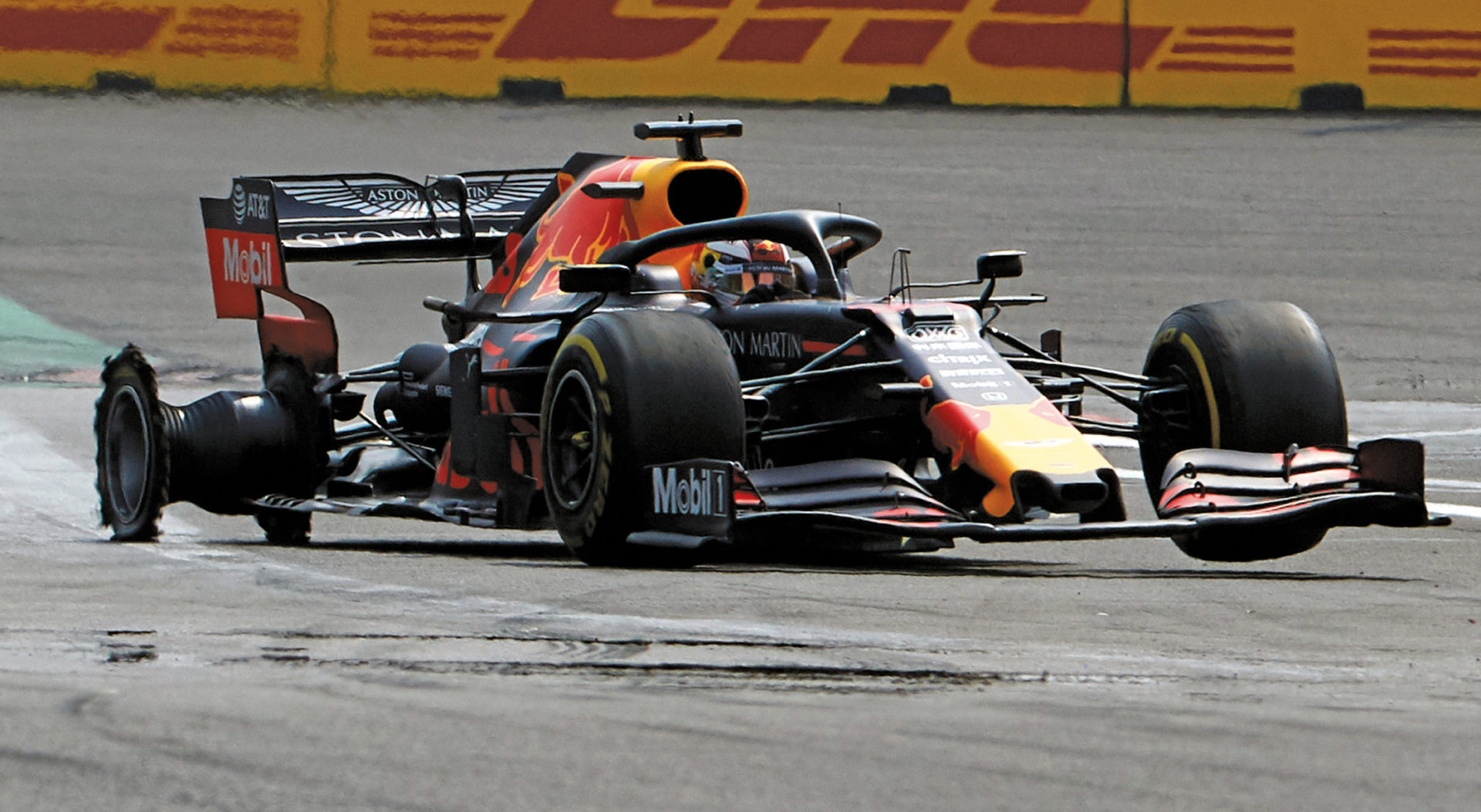 An early puncture for Verstappen wrecked his chances in Mexico