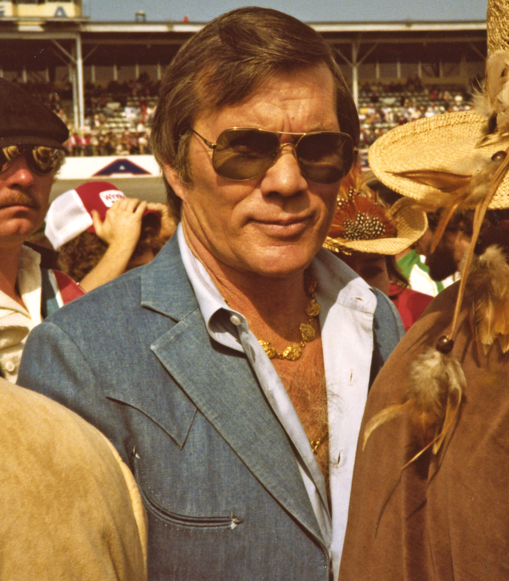 Hollywood director Hal Needham sunk $1m of his own money into the LSR project