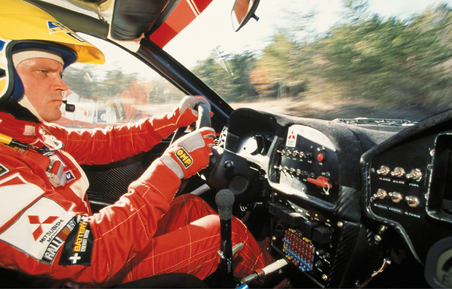 Mäkinen became synonymous with variations of the Mitsubishi Lancer Evo – but it was not love at first sight