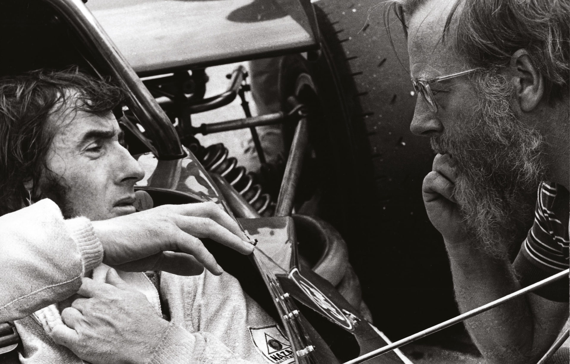There was mutual respect between Sir Jackie Stewart and Denis Jenkinson, but there were also very public disagreements