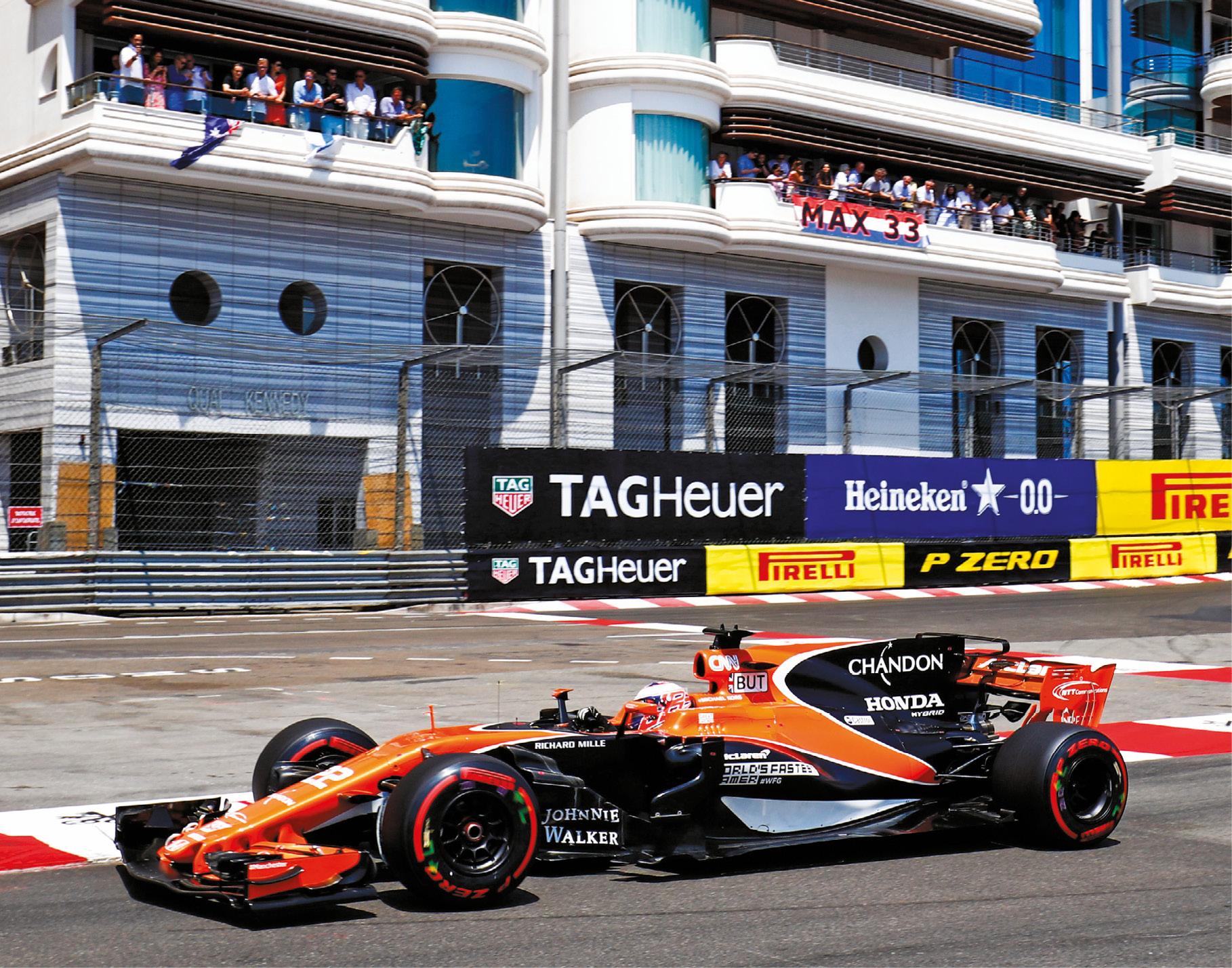 That Monaco comeback in 2017 took some self-persuasion
