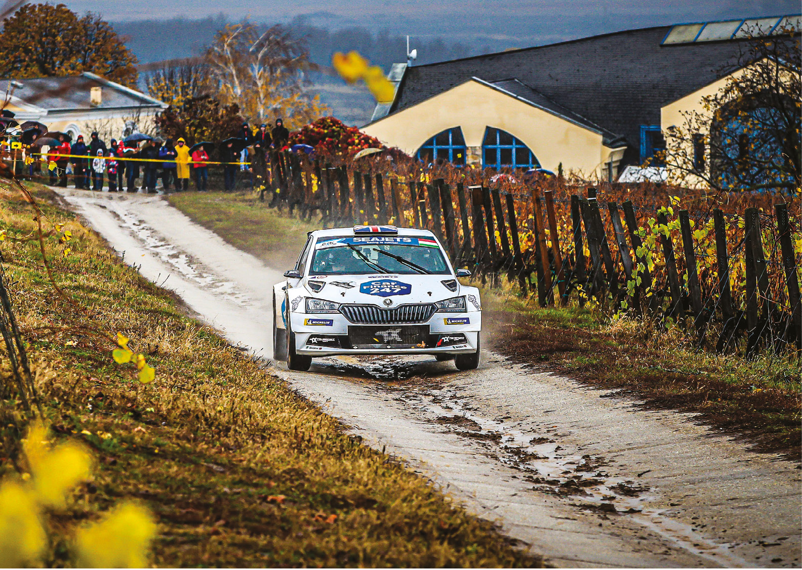 Škoda driver Chris Ingram brought the ERC title back to Britain for the first time in 52 years