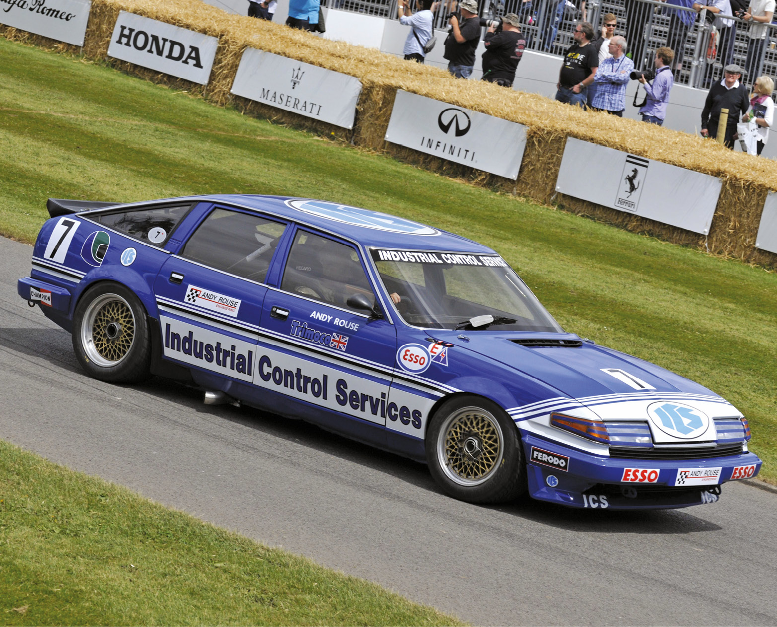 Andy Rouse claimed the SD1's only outright BSCC title in 1984