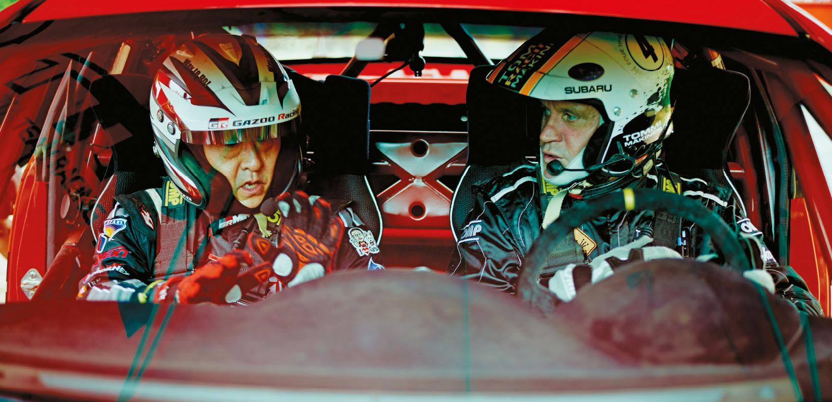 Tutoring Toyota boss Akio Toyoda, who has also entrusted Mäkinen to run his WRC team for the past three seasons