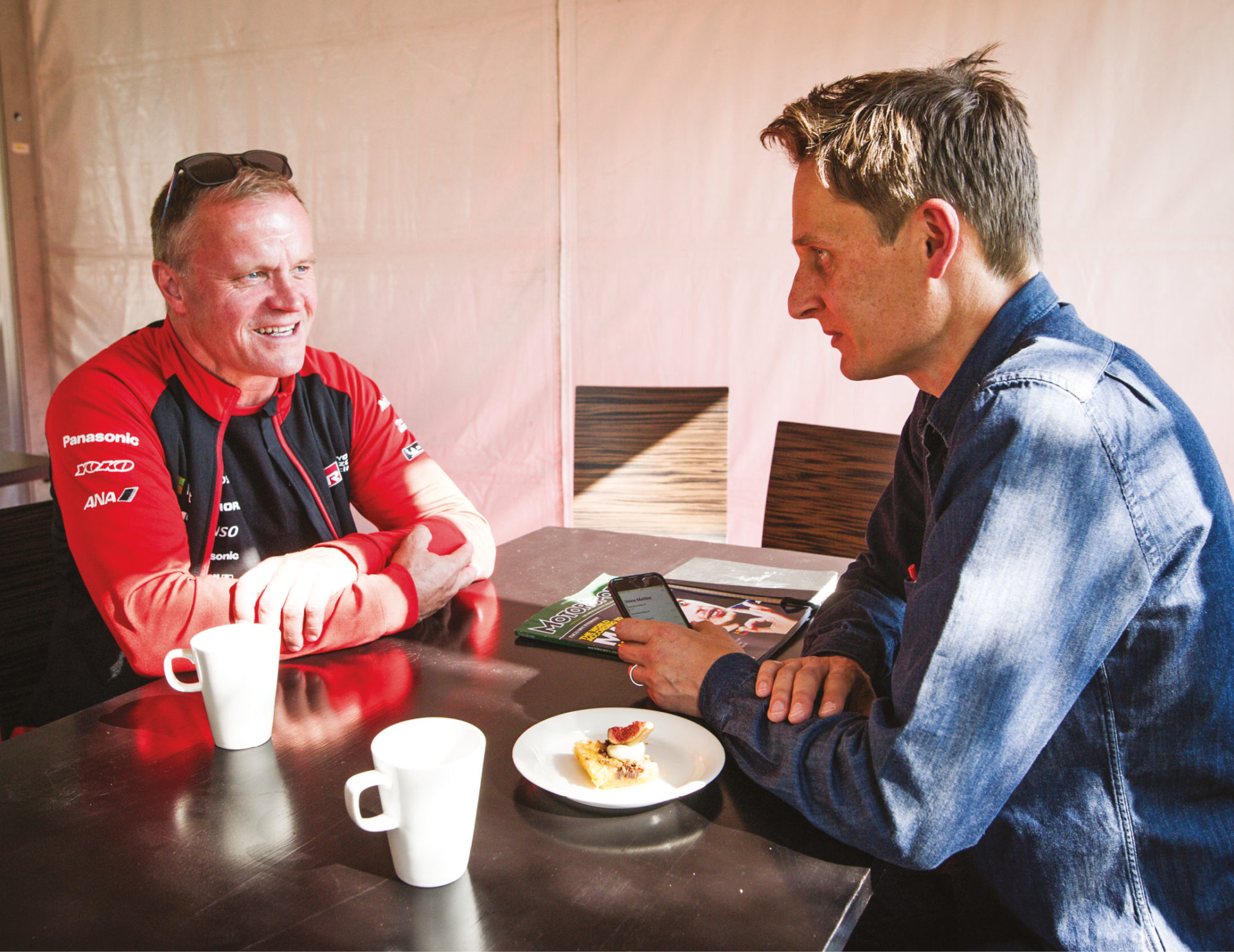 Mäkinen was a fiercely private driver who did not relish press interviews