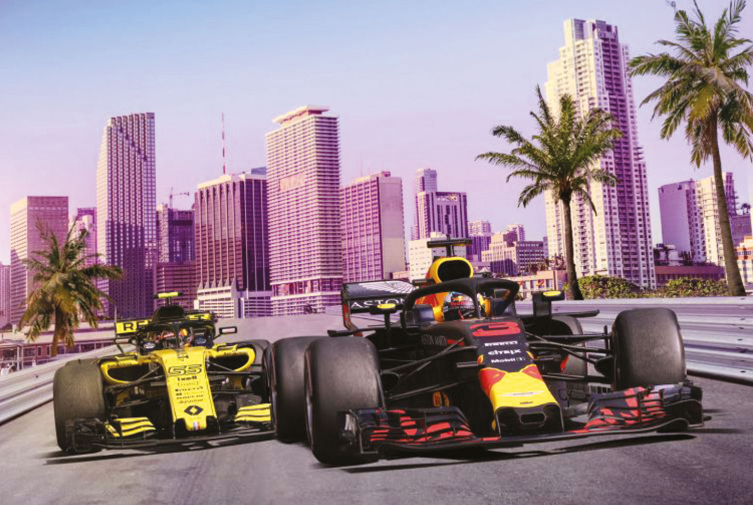 Liberty wants a race in Miami, but has hit trouble