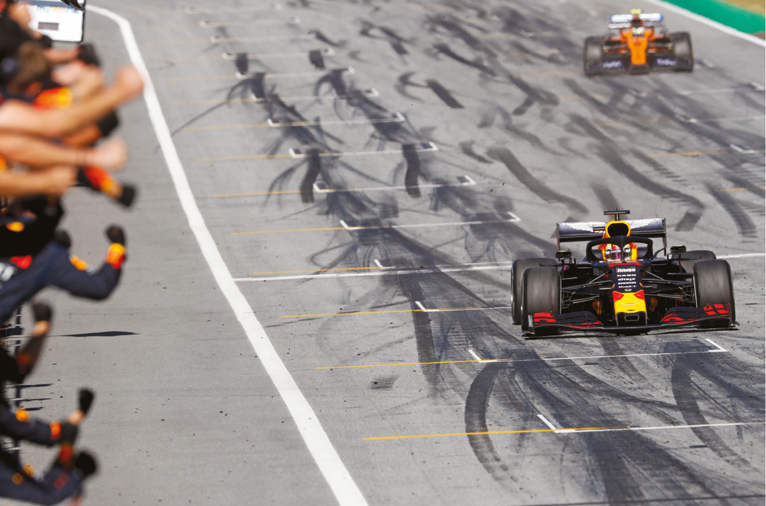 Verstappen secured Honda's first win since 2006 in Austria