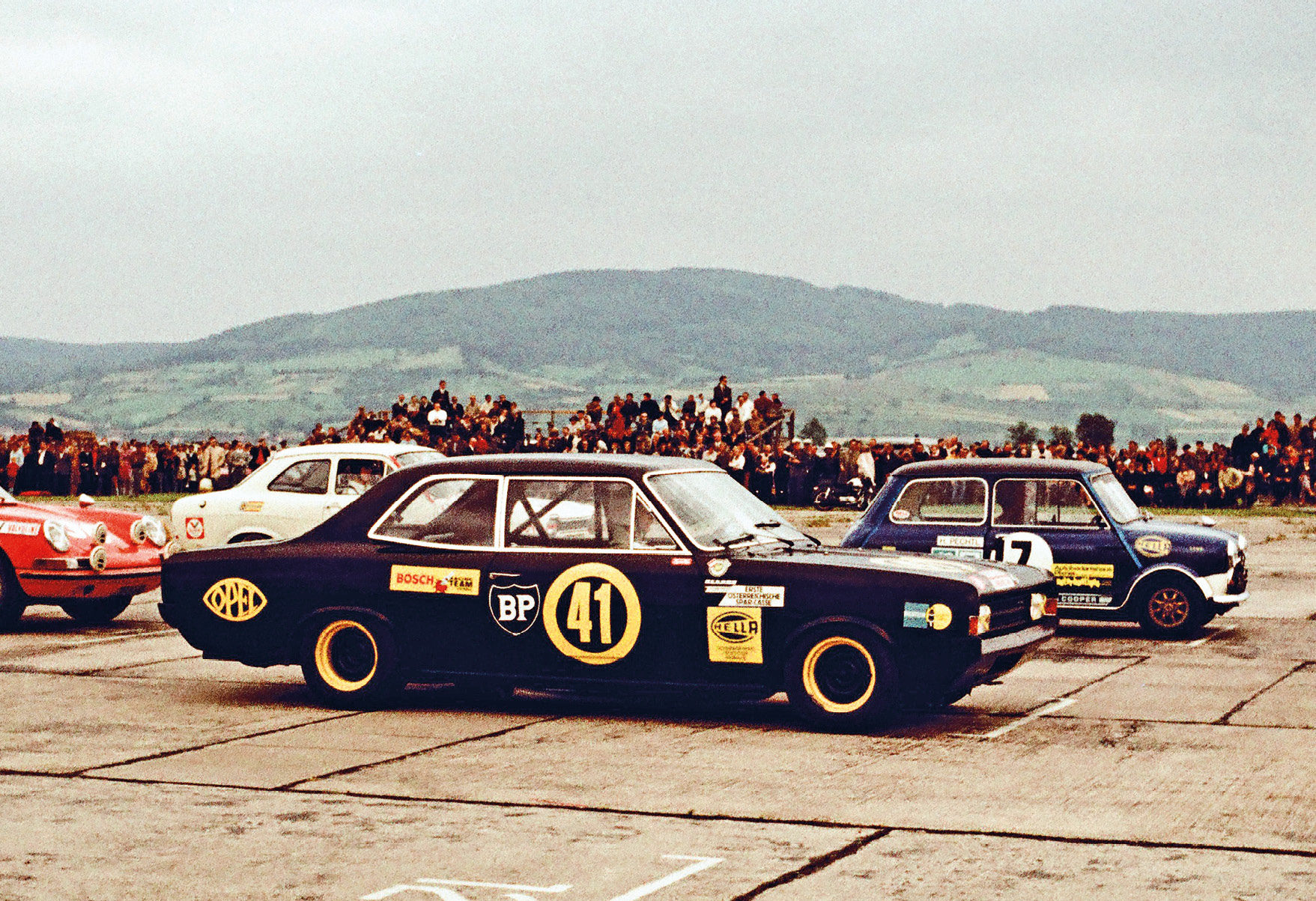 The 'Black Widow' was a modified Opel Rekord Series C, which Lauda rated as the worst car he ever drove