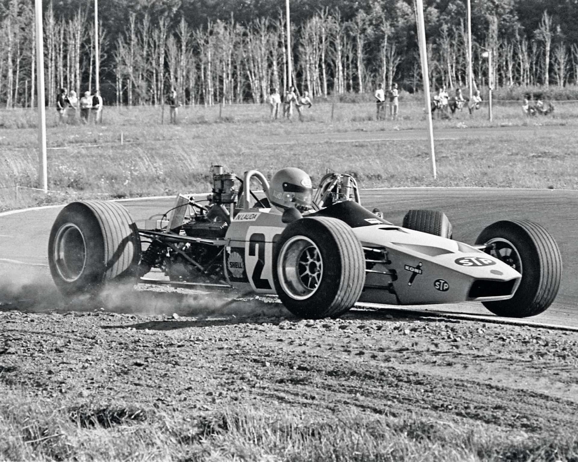Formula 3 in 1970 wasn't an easy season for the young Lauda, who struggled to make an impact with the un-winged McNamara chassis