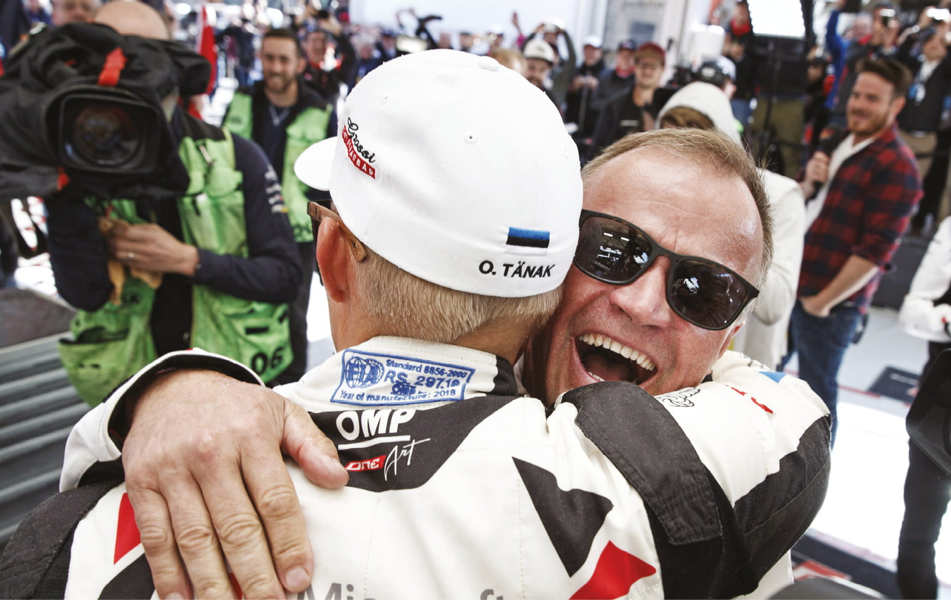 Ott Tänak secured this year's WRC title for Tommi's Toyota crew