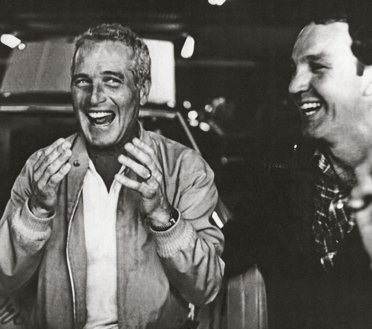 Barrett was a close friend of actor and race fan Paul Newman