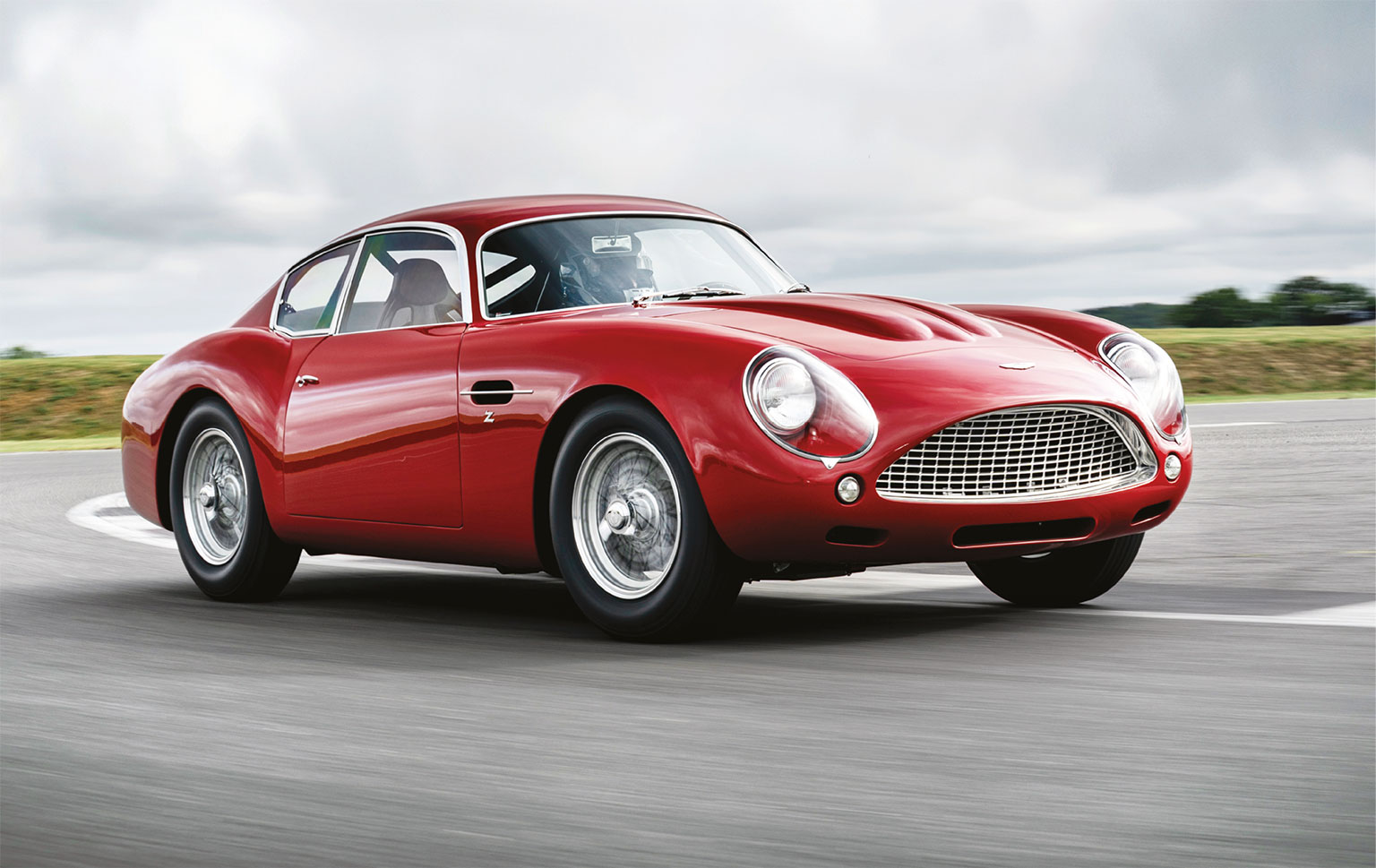 Poetry in motion: whether you agree with continuation cars or not, the Zagato is stunning