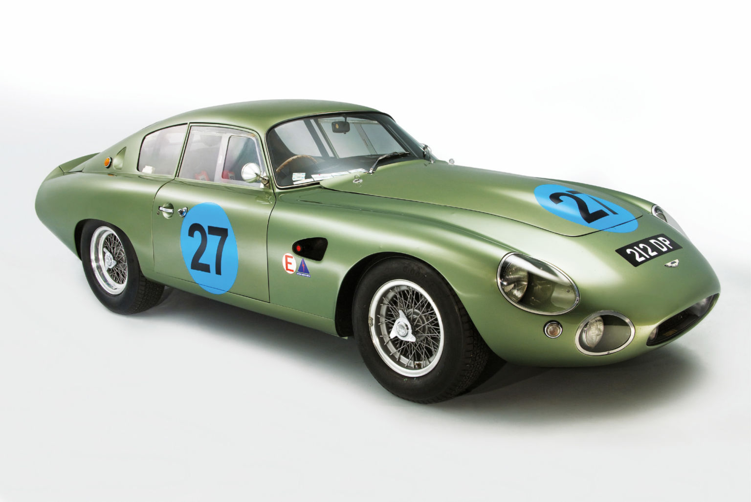Part stroke of genius, part cobbled together, DP212 took Aston back to Le Mans after the factory backed out