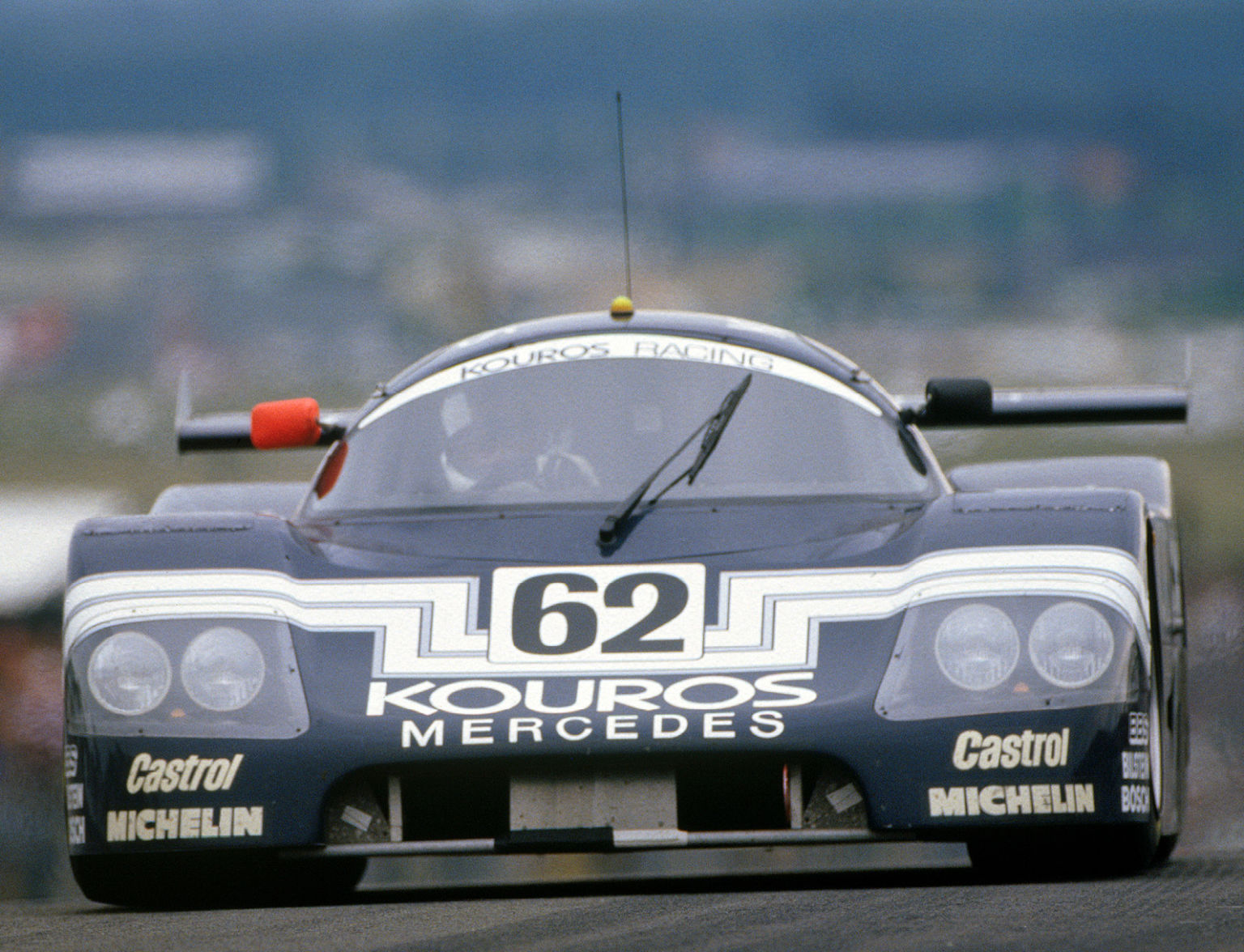 Thackwell's varied career even took him into Group C with Sauber, but that's where it ended
