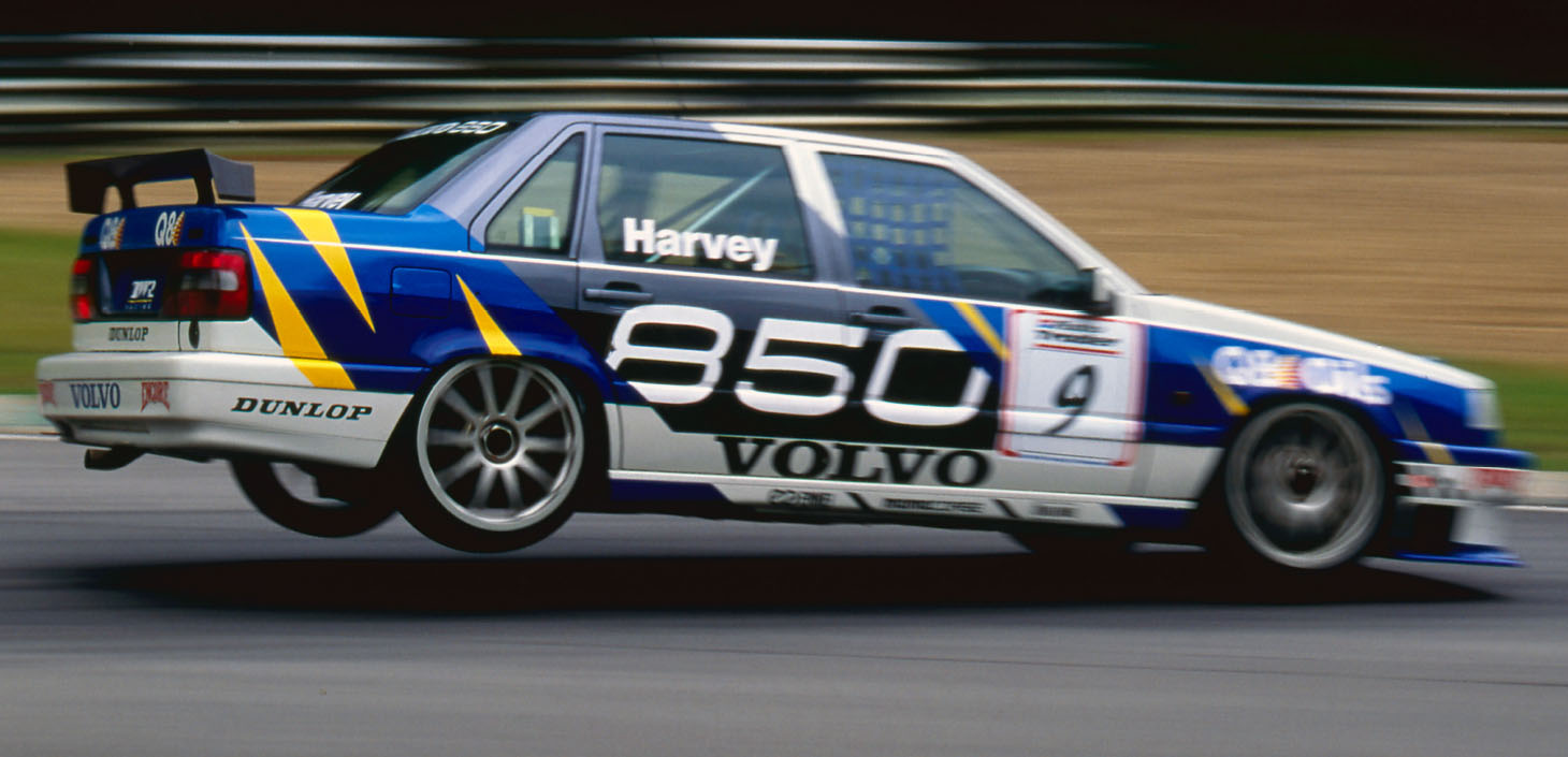Two victories and fifth in the championship in the Volvo 850, but internal politics brought a shift – to an ill-starred Peugeot