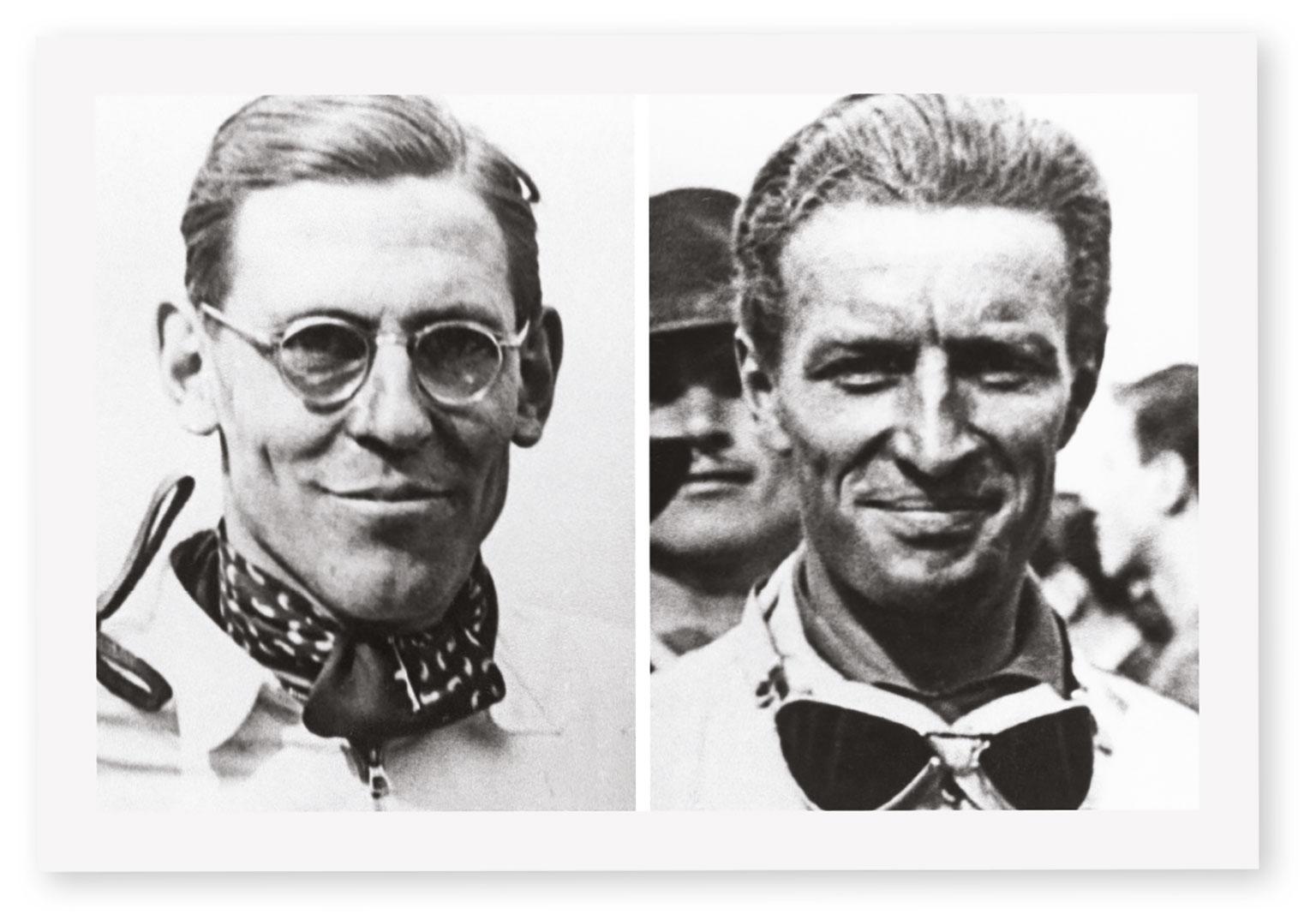 Hanstein, left, and Bäumer