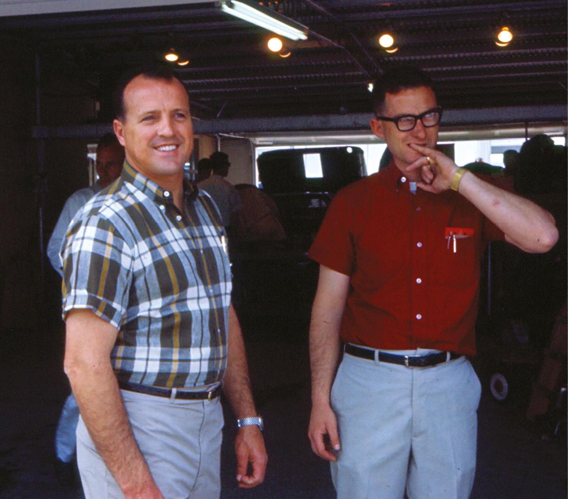 AJFoyt, left, put Shelby MkII on Daytona pole